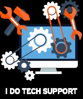 I Do Tech Support | London, UK Logo